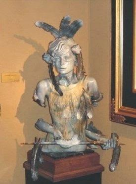nick bronze sculpture
