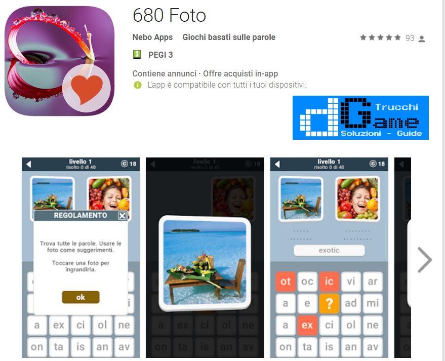 Soluzioni 680 Foto | Tutti i livelli risolti con screenshot soluzione