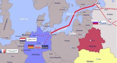 """США попередили німецькі компанії про можливі санкції за участь у будівництві """"потоків"""""""