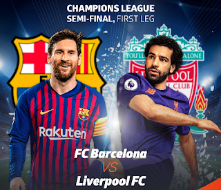 What US TV channel is Liverpool vs Barcelona on?