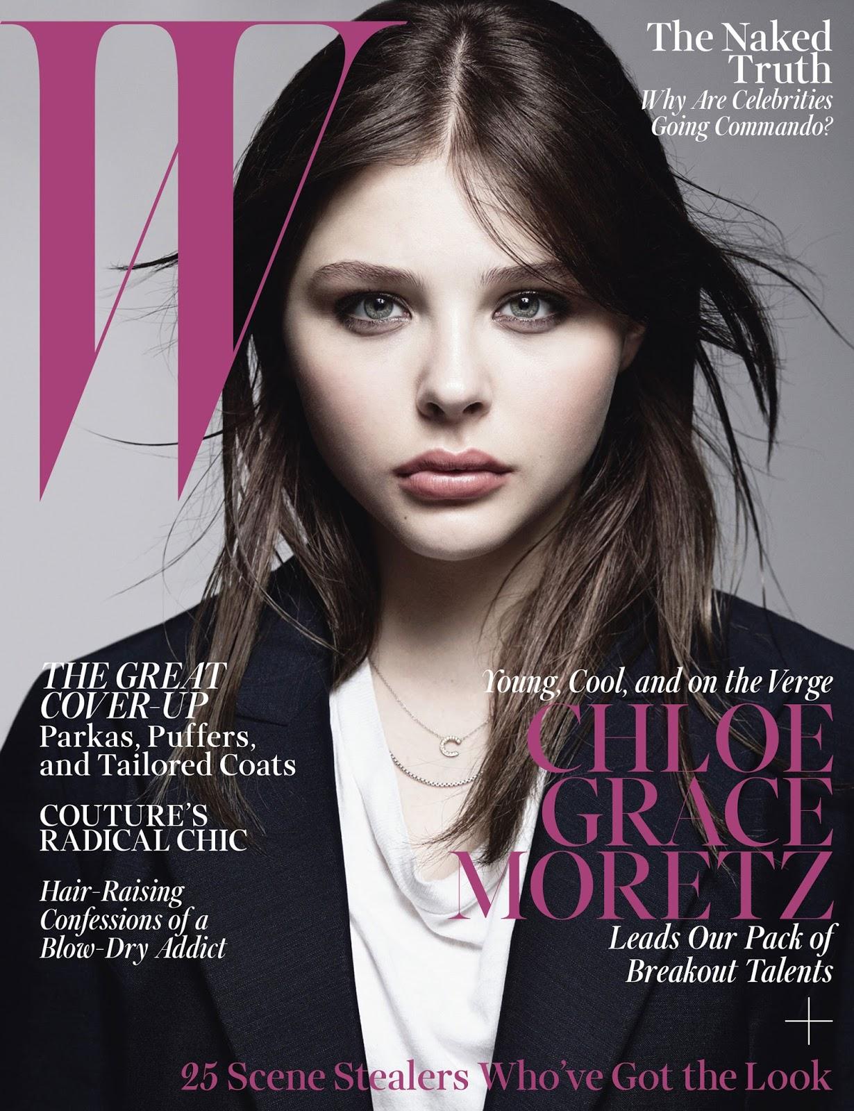 RCN America CA: Chloe Grace Moretz: W Magazine October