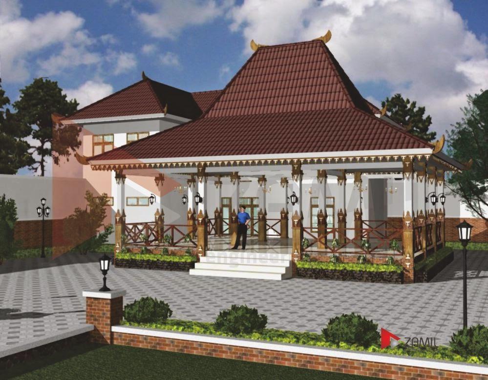 Rumah Joglo Modern Minimalis Media Semarang