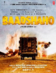 Ajay Devgn, Emraan Hashmi, Esha Gupta and Ileana D'Cruz, Vidyut Jammwal New Upcoming movie Baadshaho poster, release date in 2017