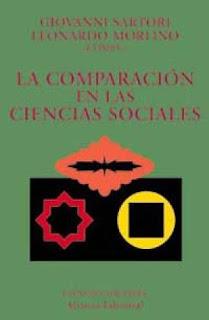 La comparación en las ciencias sociales / Giovanni Sartori y Leonardo Morlino