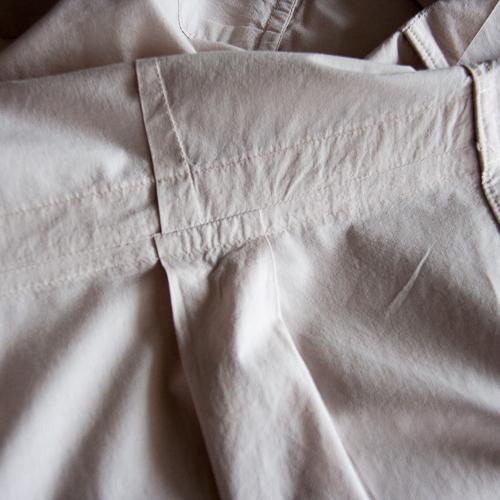 Couture alternative de la ceinture de la chemise bruyère