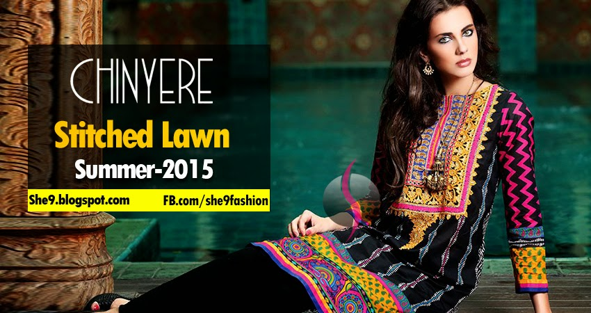Chinyere Launched Stitched Lawn Collection