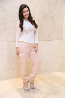 Kyra Dutt in Tight White Top Trousers at Paisa Vasool audio success meet ~  Exclusive Celebrities Galleries 040.JPG
