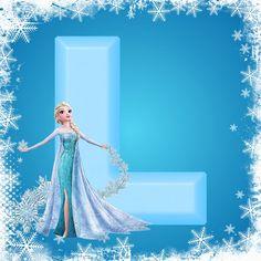 Frozen Letters. Letras de Frozen.