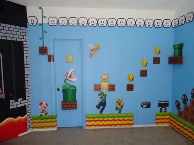 Mario Brothers Bedroom Decor If You Have A Good Floor Plan To Your Will Be Able Come Up With Ton Of Interior Design Ideas