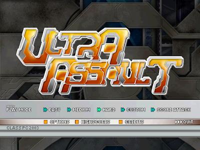 雷電超激版(Ultra Assault)硬碟綠色免安裝版,精緻華麗的飛機射擊遊戲!