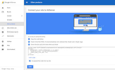Google Adsense Ged Code