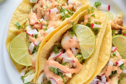 Fish Tacos with Chipotle Lime Crema Recipes