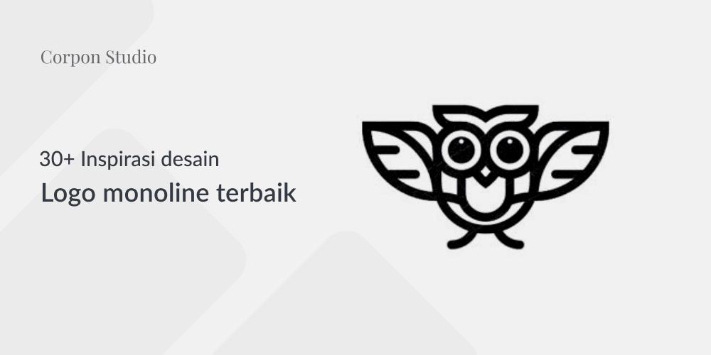 Inspirasi Desain Logo Monoline 2017