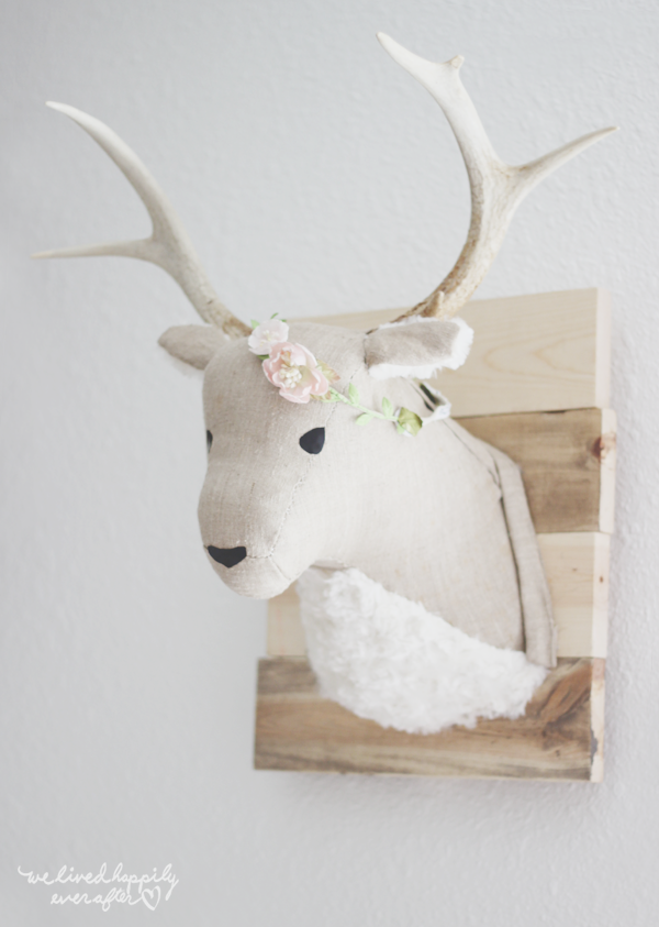 Diy Deer Head Liz Marie Blog