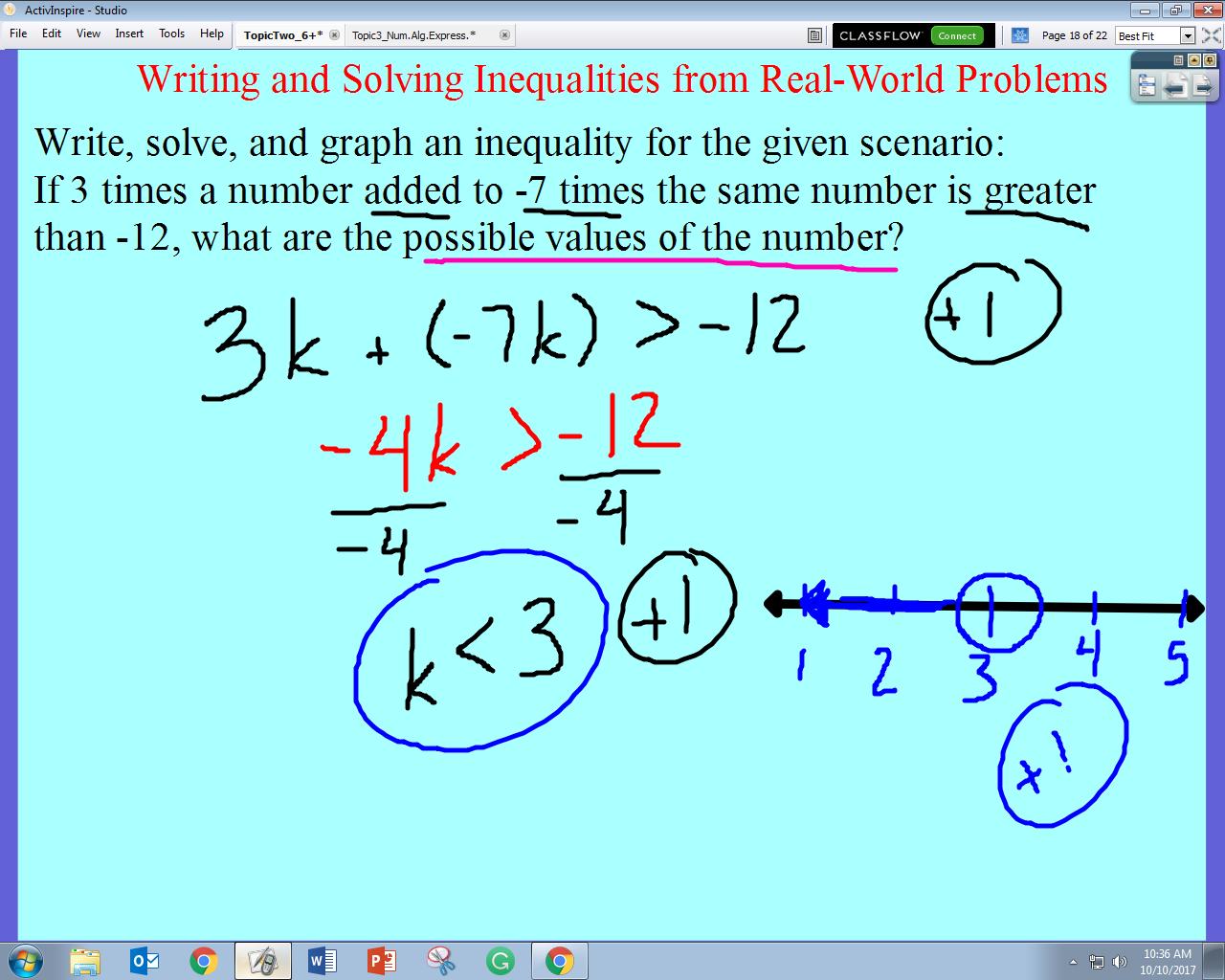 mr giomini's mathematics blog day 35 math 6  write