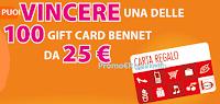 Logo ''Vinci 100 buoni Bennet da 25€ con Sc Johnson''