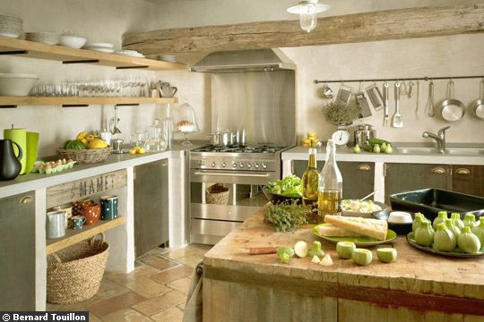 Charming Rustic Kitchen Ideas And Inspirations: From Purdue To Provence: Kitchen Inspiration: Rustic, Yet