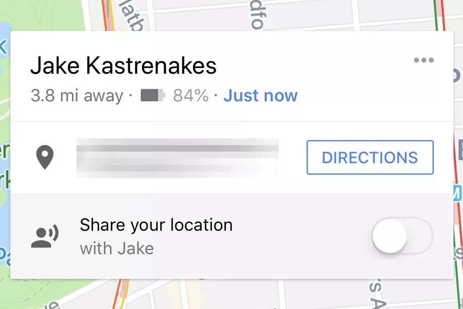 Google Maps' location sharing will now share your phone's battery status, too