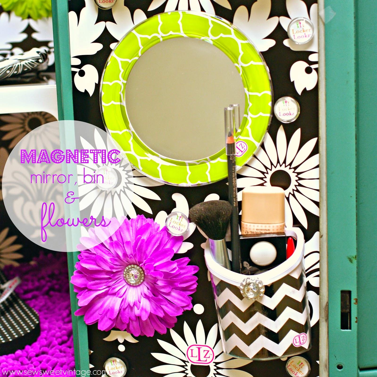 magnetic locker decorations LLZ by LockerLookz