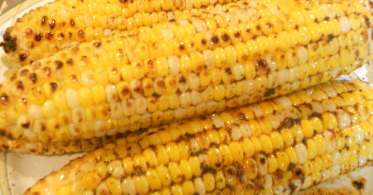 Just One Donna!: Amazing Grilled Corn with Chili-Lime Butter