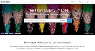 pixabay 60 Sumber Desain Gratis untuk Merancangan Konten Visual