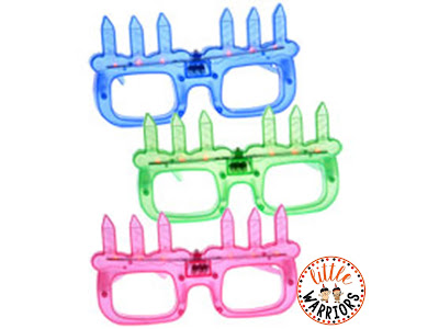Student birthdays light up glasses