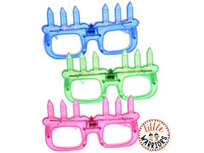 Student birthdays light up glasses