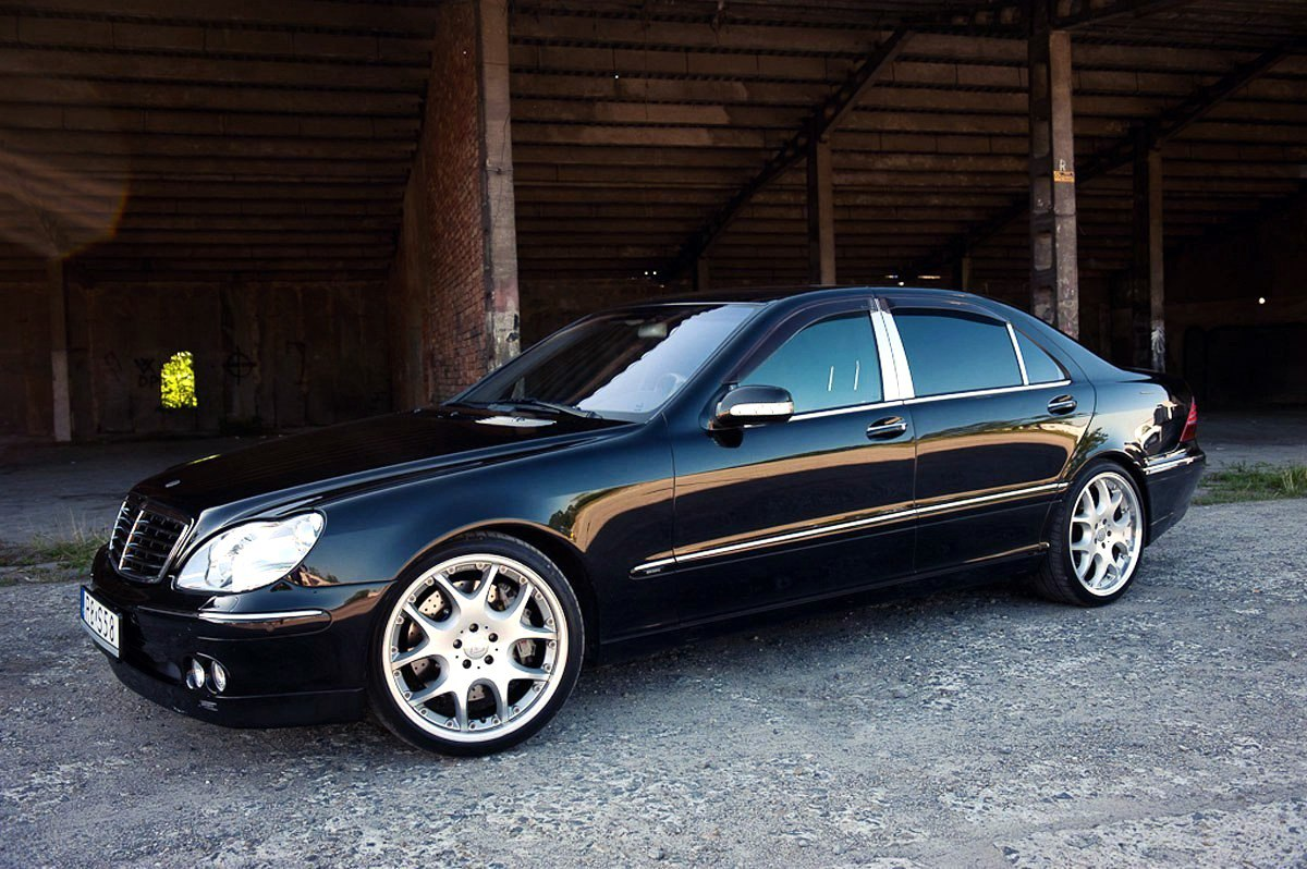 1999 mercedes benz w220 s500 brabus 5 8 benztuning. Black Bedroom Furniture Sets. Home Design Ideas