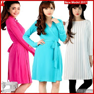 JDB054 FASHION Perempuan Ck Outlet Dress BMGShop