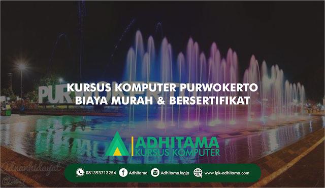 Tempat Kursus Komputer Terbaik di Purwokerto, Biaya Murah & Bersertifikat