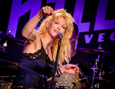 Courtney love used to strip think, that