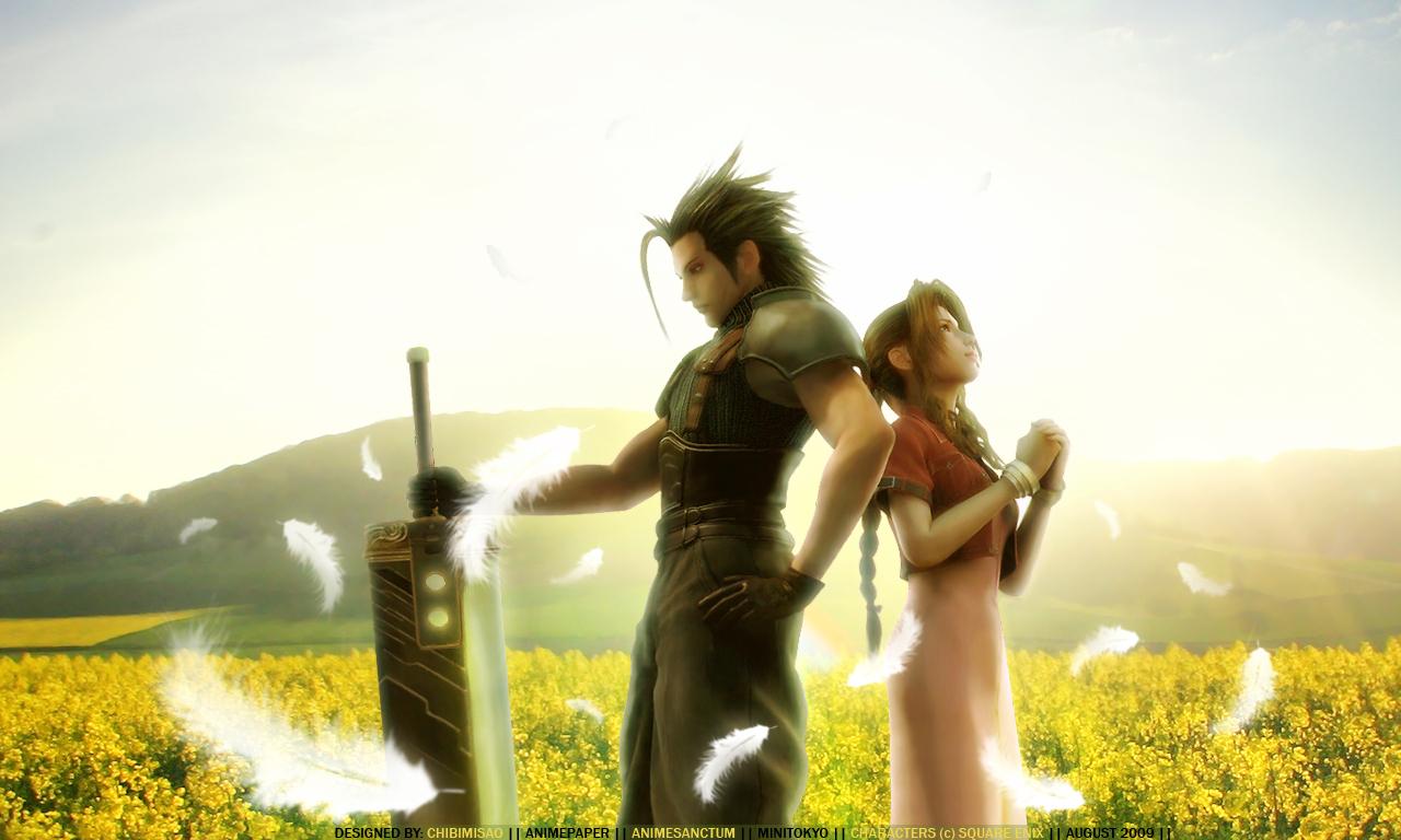 Final Fantasy Hd Wallpaper Final Fantasy Vii Crisis Core