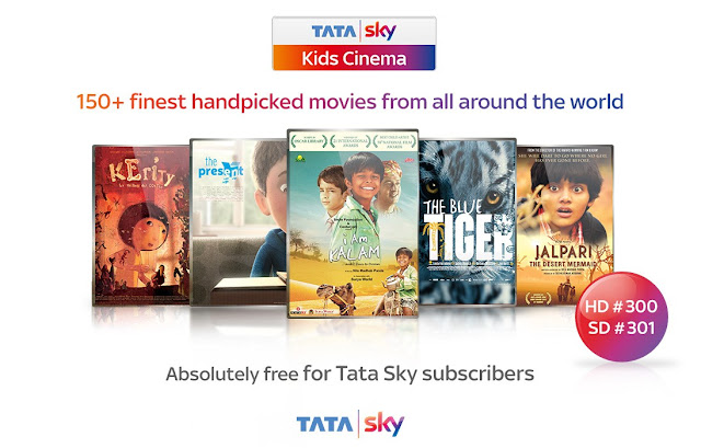 Big adventures. Memorable characters. 'Tata Sky Kids Cinema' brings children's films from across the world