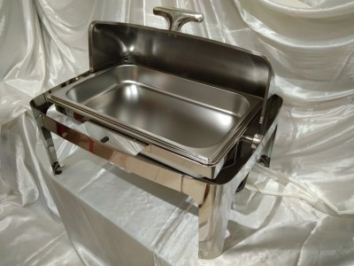 Square Rolltop Chaffing Dish Grade B 2