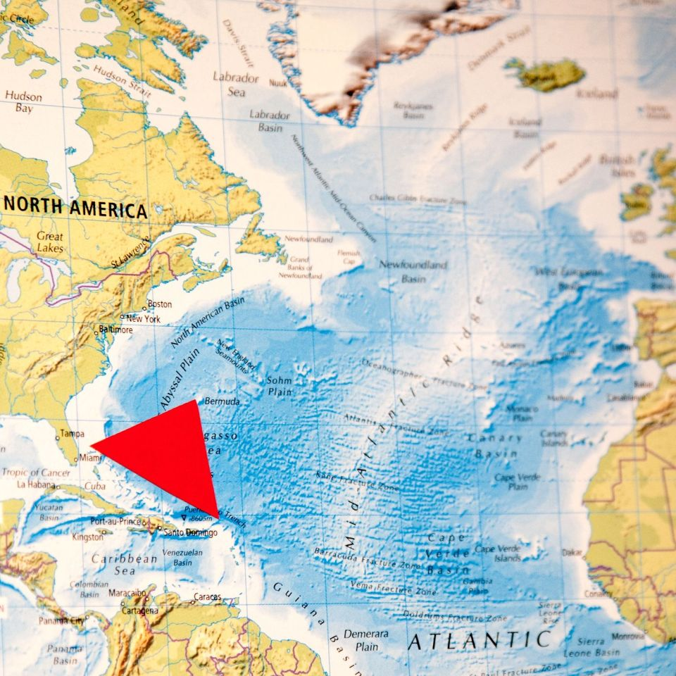 bermuda triangle is the greatest unsolved mystery of the modern age also called devil s triangle