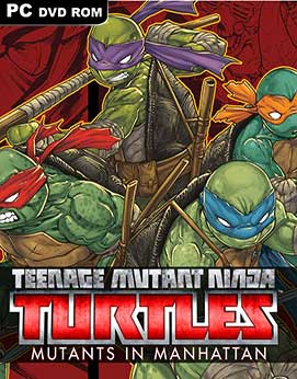 TMNT Mutants in Manhattan PC Full Español ISO