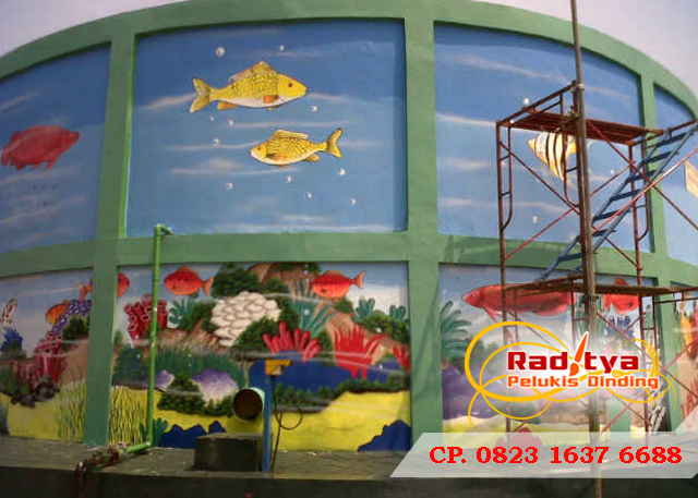 Lukisan Dinding Untuk TK
