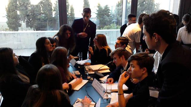 Προσομοίωση οργάνων της Ευρωπαϊκής Ένωσης για μαθητές Α' και Β' Λυκείου από το EUROPE DIRECT ΕΛΙΑΜΕΠ