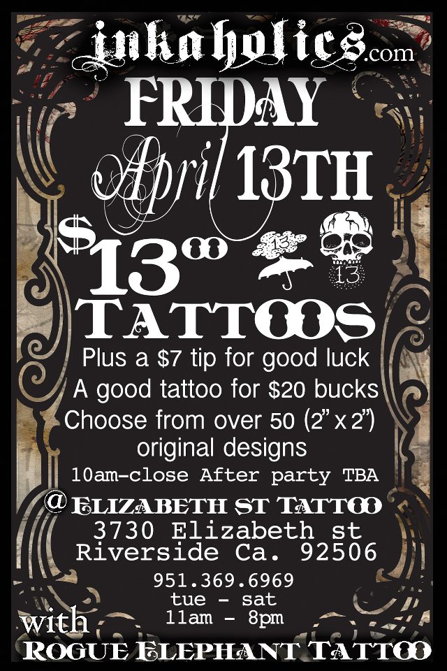 8640fc232 Friday The 13th - Inland Empire Tattoos | (SpokesmanSpeak.com)
