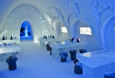 Inilah Bangunan Es Paling Menakjubkan Yang Pernah Dibuat