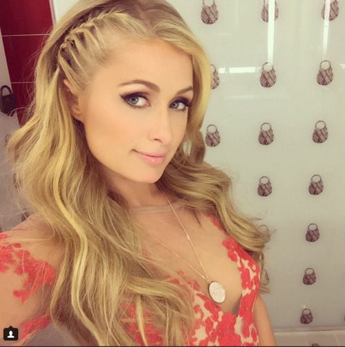 Her sister marries: Paris Hilton is perfectly happy