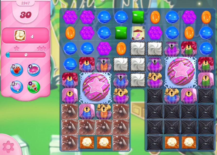 Candy Crush Saga level 2947