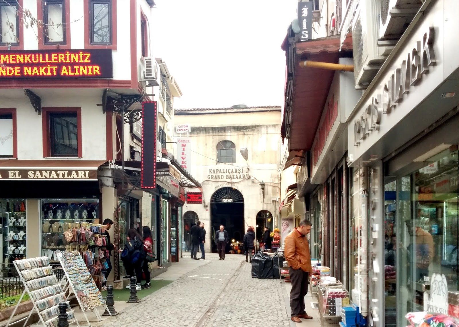 Visiting Istanbul for the first time, Grand Bazaar entrance  |  Postcard from Istanbul on afeathery*nest  | http://afeatherynest.com