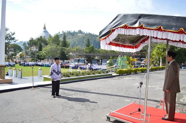 Peringatan Hardikda  di Aceh Tengah Berlangsung Khidmat
