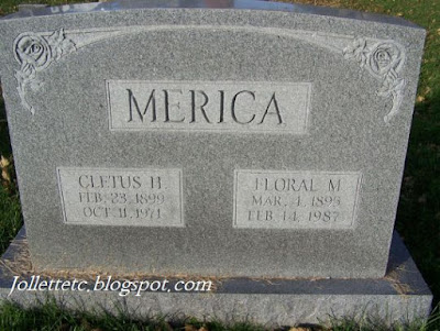 Tombstone Floral Sullivan Merica https://jollettetc.blogspot.com