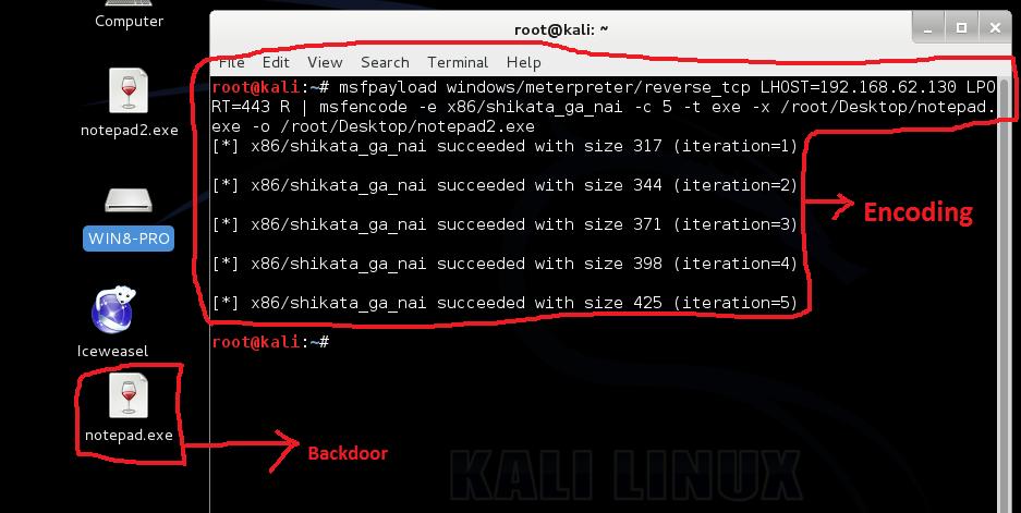 backdoor kali linux