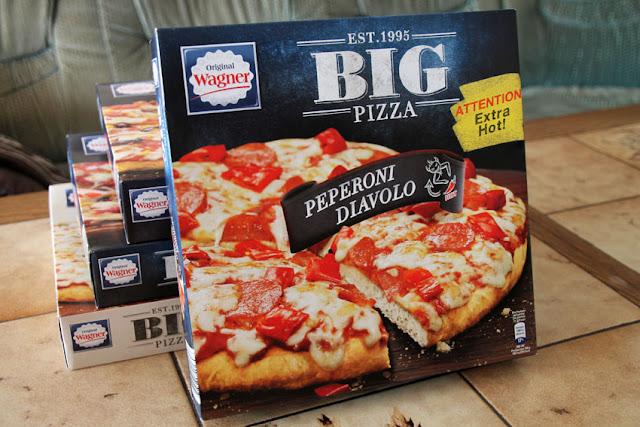 Original Wagner Big Pizza Peperoni Diavolo - Verpackung