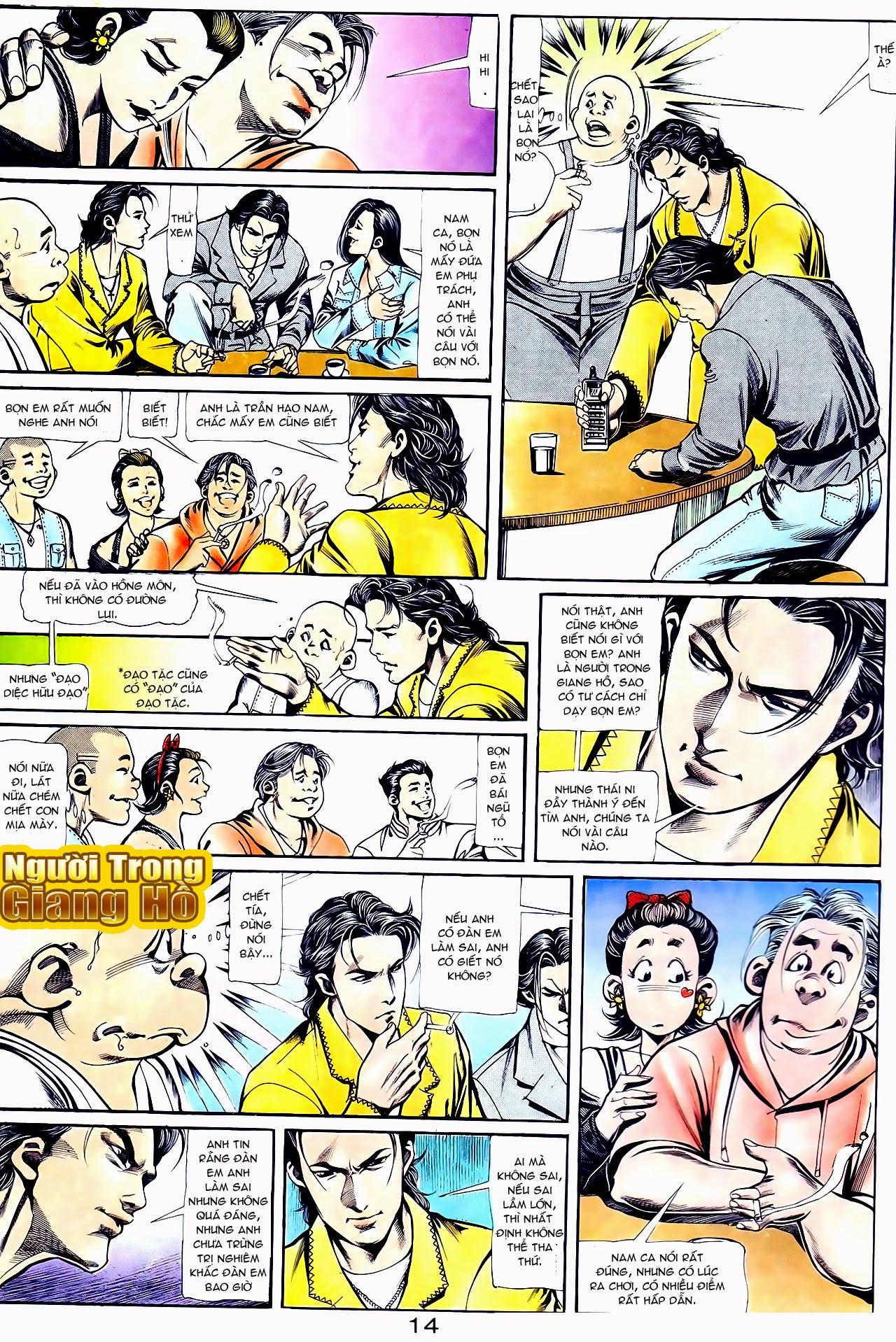 Người Trong Giang Hồ chapter 111: đời không nuối tiếc trang 14
