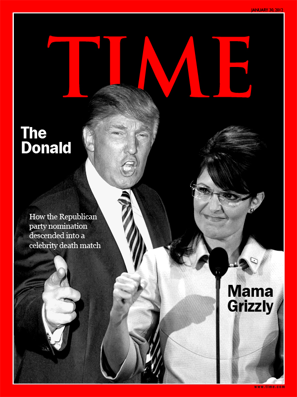 The Trumps : Time Magazine Covers