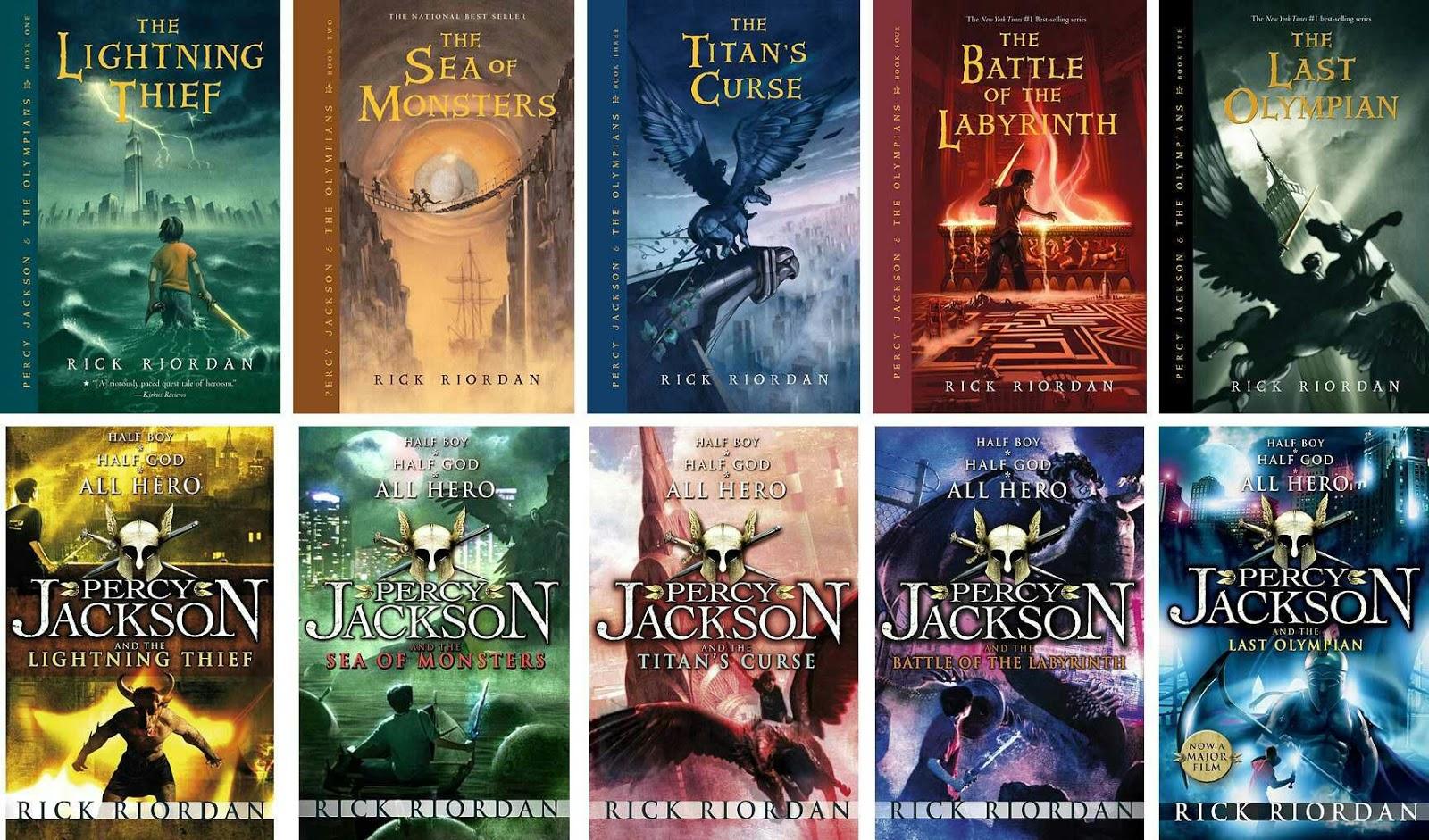 Percy Jackson & The Olympians Books Pdf